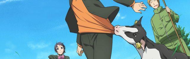アニメ『銀の匙』キービジュアル公式画像