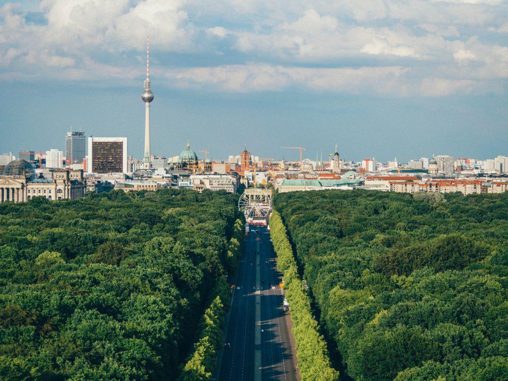 ベルリンの町並み